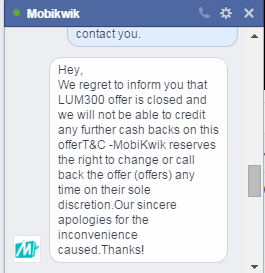 Microsoft & Mobikwik Lum300 Fraud offer
