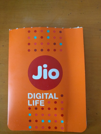 Reliance Jio Digital Life Sim Card
