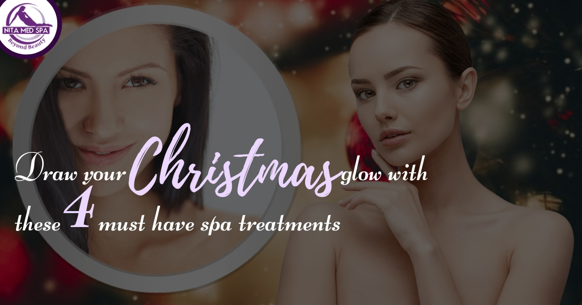 Draw Your Christmas Glow With These 4 Must Have Spa