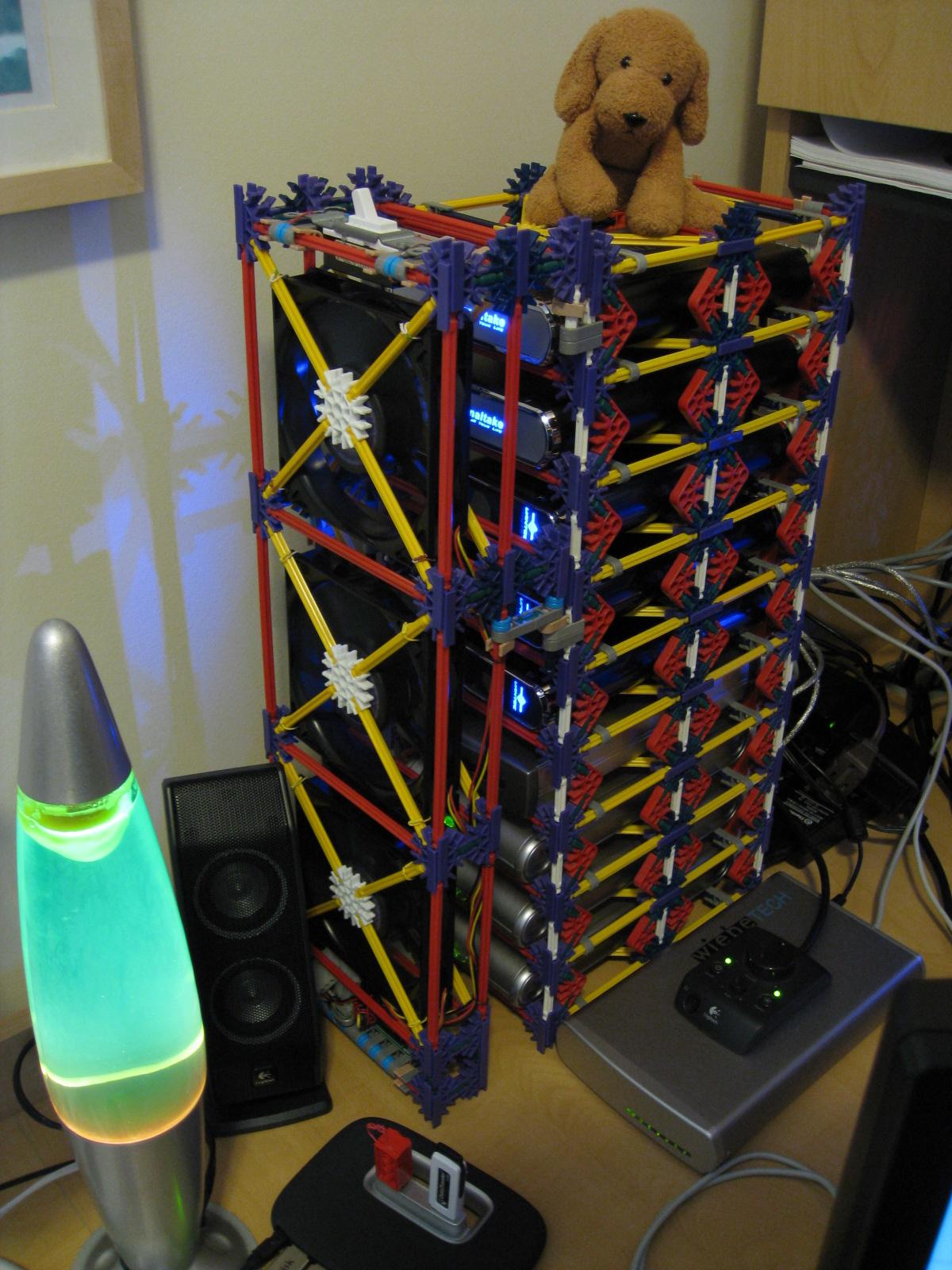 3d Server Wallpaper K Nex Hard Drive Rack