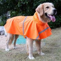 Dog Rain Coat Pet Jacket Puppy Outdoor Clothes Waterproof ...