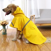 Dog Rain Coat Pet Jacket Puppy Outdoor Clothes Waterproof ...
