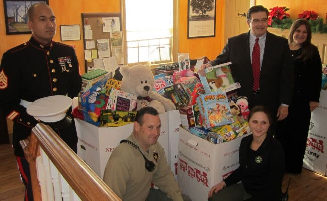 Mercer County Annual Toy Drive To Benefit Toys For Tots