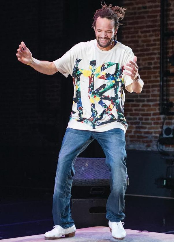 "Savion Glover performed his new ""Chronology of a Hoofer"" at NJPAC, Oct. 8."