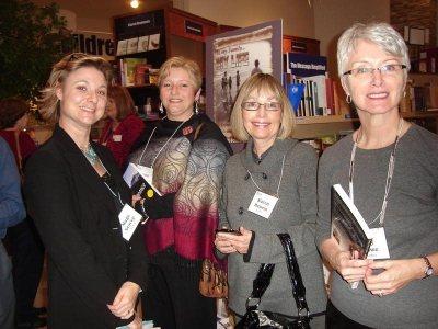 Authors Mags Storey, Donna Dawson, Karen Henein, Fay Rowe