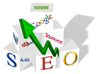seo blocks web SEO link building scams waste of time photo