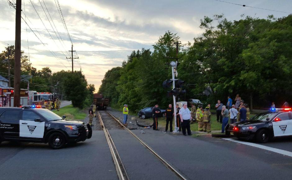 BREAKING No Injuries Reported in Audubon Train Crash