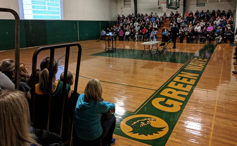 Anxiety, Rumor Flood Audubon Town Hall on School Safety