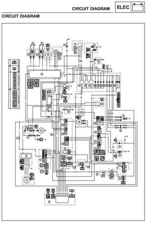 Wire Diagram Wiring Schematic Service Repair Manual Priručnici Za Motocikle 45 Kn