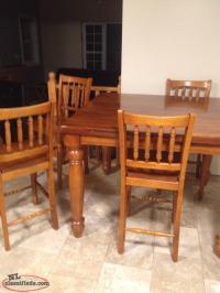 Pub Style Table & Chairs - CBS, Newfoundland