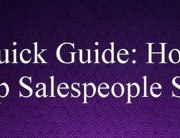 Quick Guide: How Top Salespeople Sell | NLP World