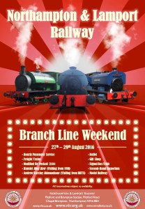 Branch Line Weekend @ Northampton & Lamport Railway | Chapel Brampton | United Kingdom