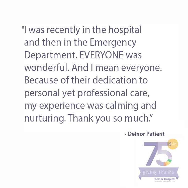Delnor Celebrates 75 Years Northwestern Medicine
