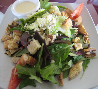 Cafe Voila's chef salad is a work of edible art