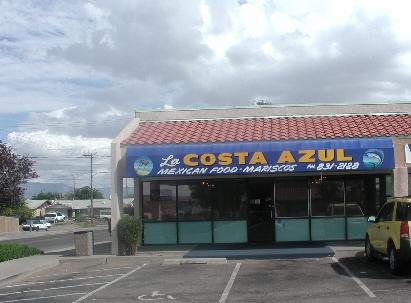 La Costa Azul, Mexican Food and Mariscos on Albuquerque's West Mesa.