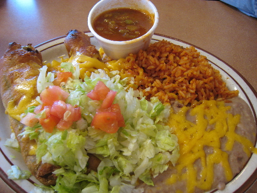 The chile relleno plate