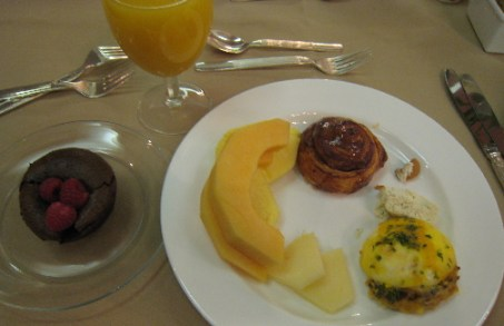 Some of the brunch specialties