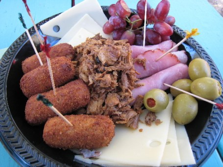 The Tocororo Combination Platter--Cuban tapas galore!