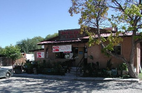 The famous Matilda's Restaurant in Espanola, New Mexico