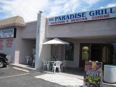 The Paradise Grill in Las Vegas, Nevada