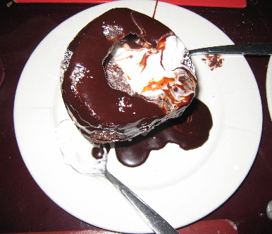 Double Chocolate Grand Marnier Souffle for Two