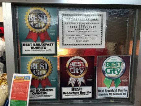 Award winning burritos are a staple at Golden Pride.