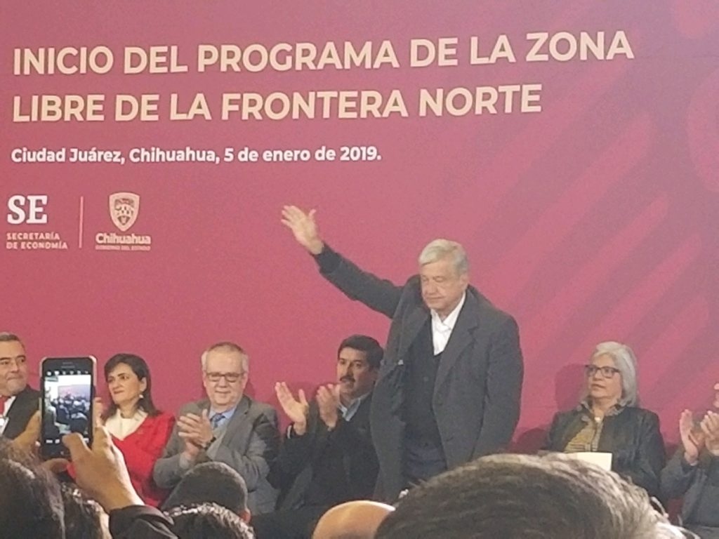 January 2019 Article – AMLO in Juarez