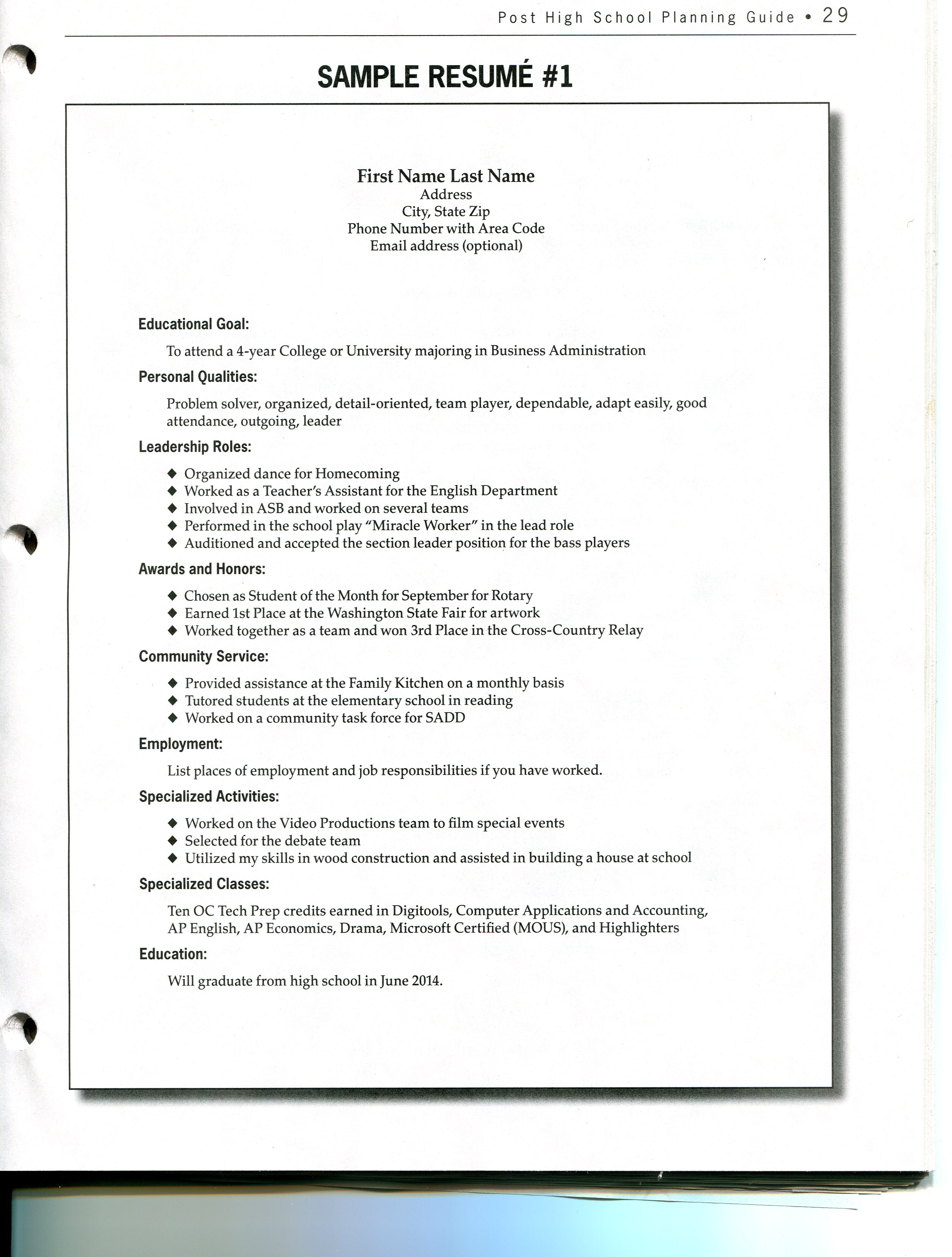 sample resume of admin executive in india professional resumes