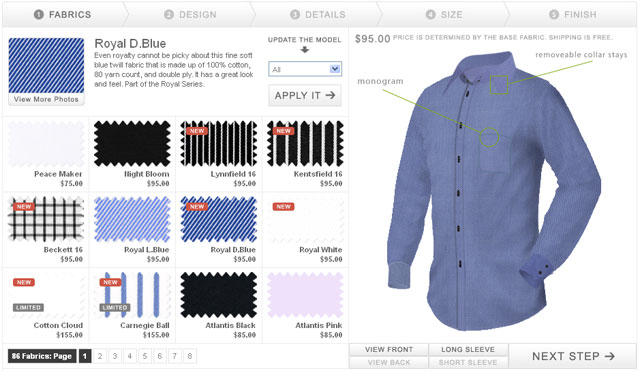 Custom Online Shirt Design Software/Tool to Personalize Dress