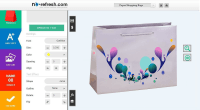 Custom Paper Shopping Bags Design Software To Design Bags