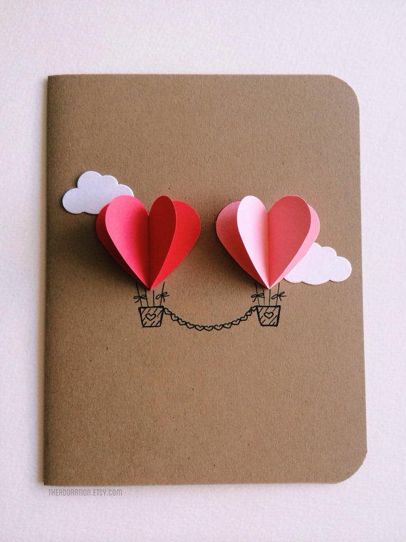 25+ Easy DIY Valentine\u0027s Day Cards