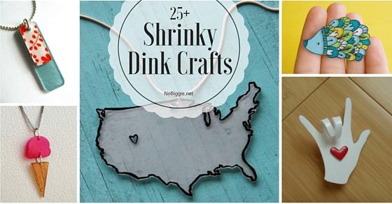 25 shrinky dink crafts