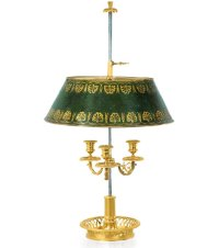 Noble Dispatch  Archive French Bronze Bouillotte Lamp ...