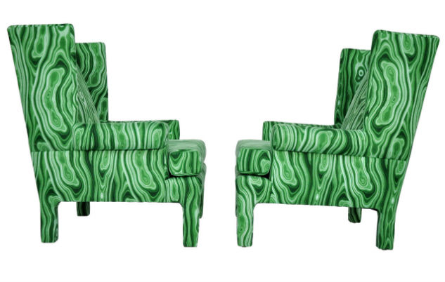 malachite chairs