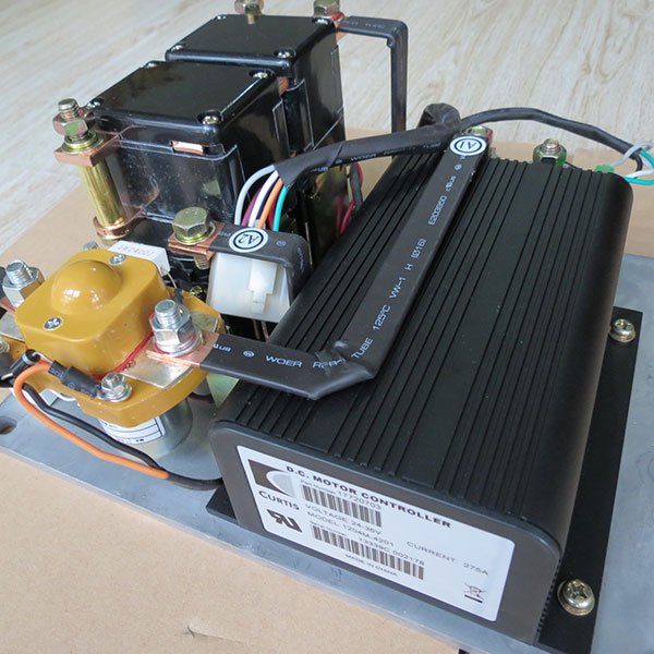 CURTIS DC Series Motor Controller Assemblage 1204M-4201 With