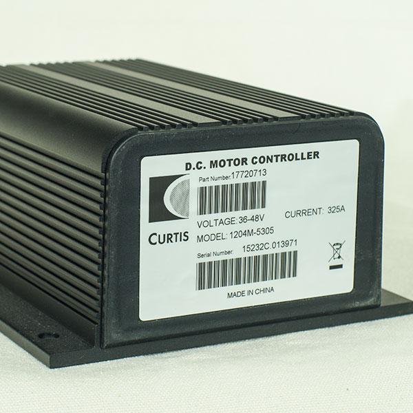 CURTIS PMC Model 1204M-5305, 36V / 48V - 325A, DC Series Motor Speed