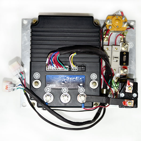 CURTIS Programmable DC SepEx Motor Controller Assemblage, Model