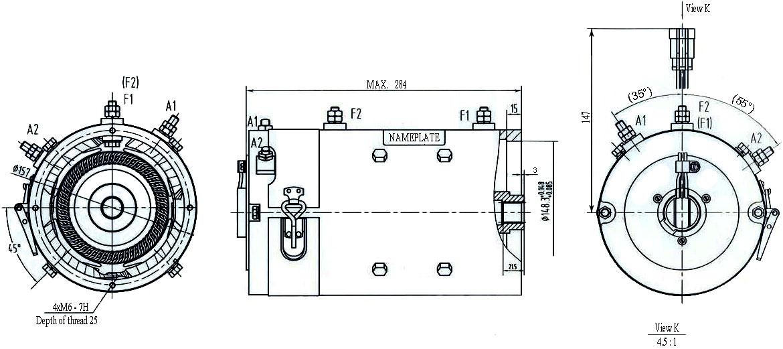 motor speed controller for on 4 brush dc motor wiring diagram