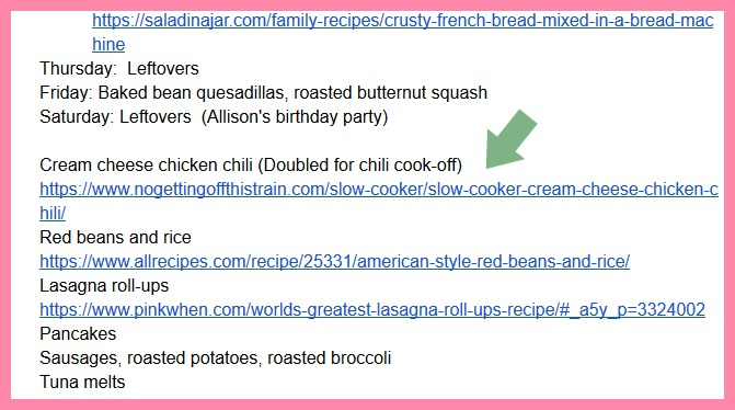How I Use Google Docs as My Grocery List - No Getting Off This Train