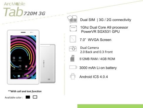 Tab 720 3G