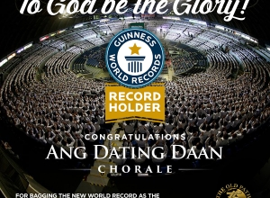 Ang Dating Daan Chorale Bags New Guinness World Record for Largest Gospel Choir