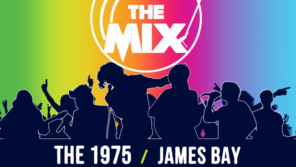 """""""IN THE MIX"""" features International Acts The 1975, Third Eye Blind, Panic! At The Disco, James Bay, Elle King, and Twin Pines on August 18 at the MOA Arena!"""