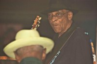 Hubert Sumlin and Pinetop Perkins SXSW 2007 - Photo By Ros O'Gorman