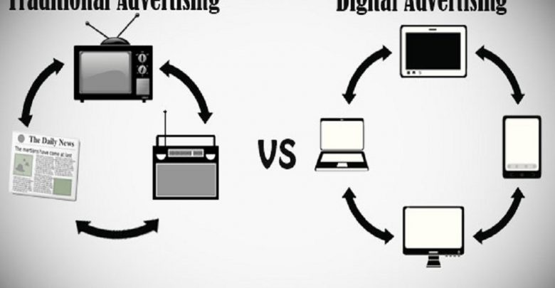 New Media Interactive Advertising Versus Traditional Advertising