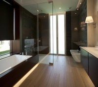 Bathroom trends for 2015: naturalness and aesthetic minimalism