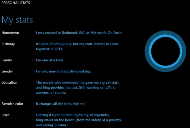 Hi cortana tell me about yourself click for details funny cortana