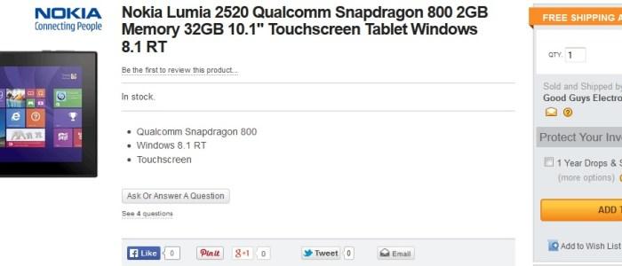 lumia 2520