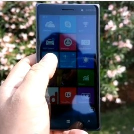 lumia 830 display