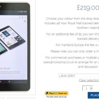 Nokia N1 available