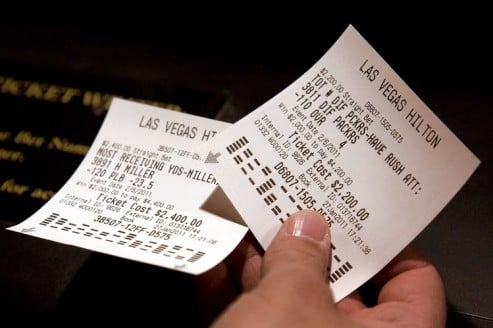 How a Winning Sportsbetting Ticket Almost Wasn\u0027t Worth the Paper - printable ticket paper